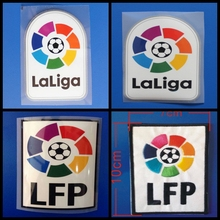 Embroidery New La Liga LFP patch football Print patches badges,Soccer Hot stamping Patch Badges(China)