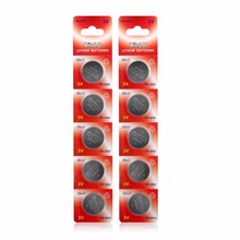 10PCS/lot=2packs CR2032 DL2032 CR 2032 KCR2032 5004LC ECR2032 3V Lithium button cell coin Battery for watch,XINLU Brand Battery