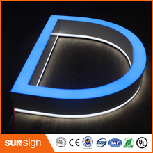 Custom 3D Acrylic LED Letters sign Outdoor customized Advertising Business open sign(China)