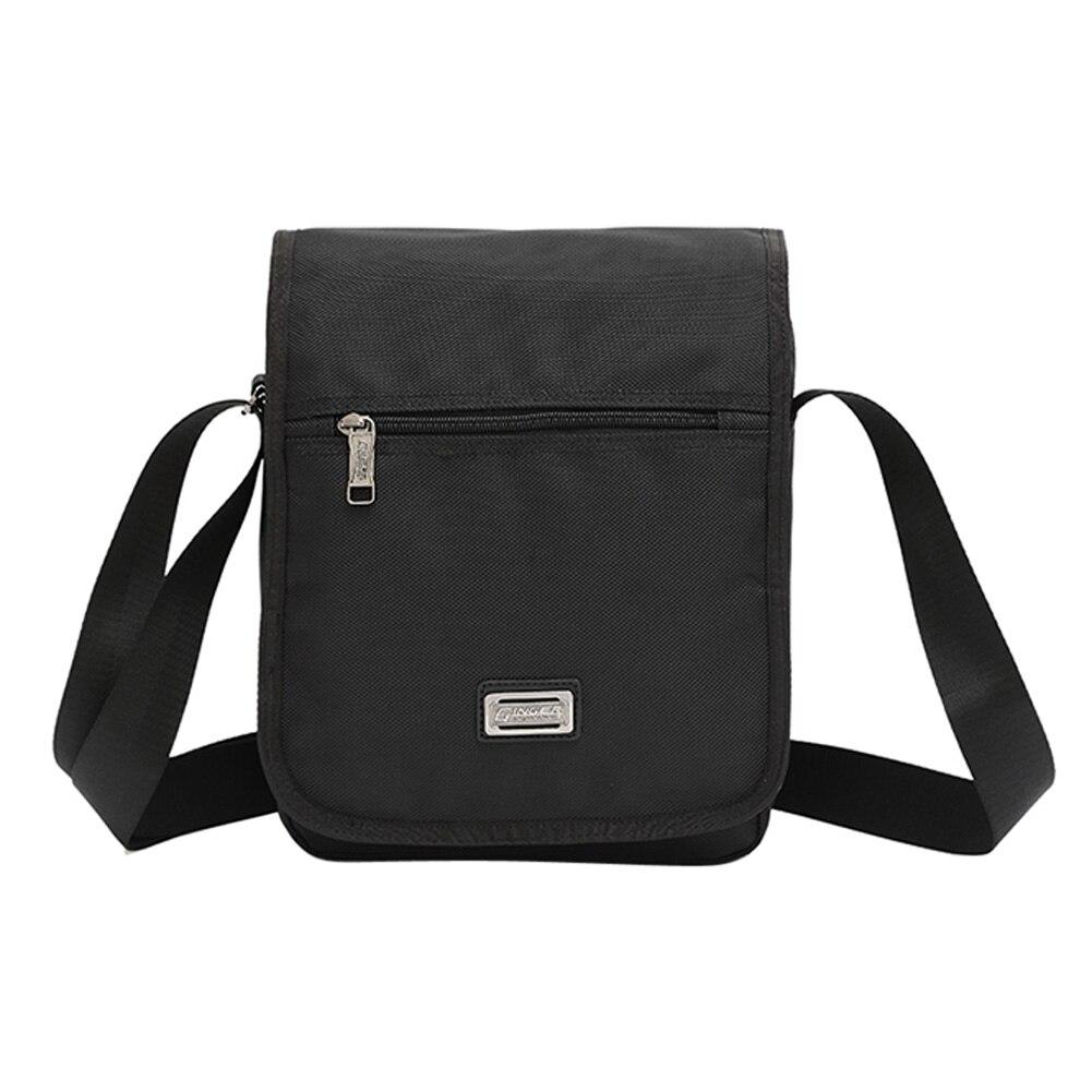 1680D Oxford Cloth Single Shoulder Male Handbag Vertical Shape Trendy Messenger Bag High Quality For Boyfriend <br>
