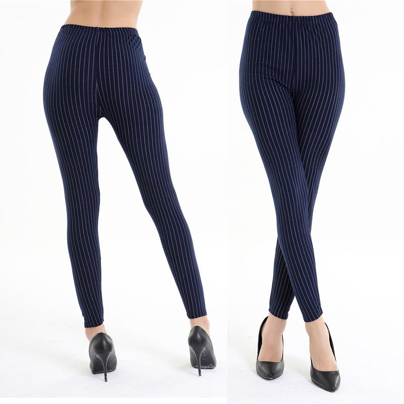 Dasbayla 17 Women Print Fashion Leggings Low Waist Thin stretch Ankle Skinny Pants Sexy Slim Ladies leggings Female 02 12
