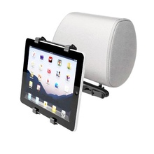 Carsaccessories Adjustable Universal Holder For Apple iPad Tablet PC GPS Car Headrest Mount QJY99(China)