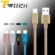 Twitch High Quality Cable Fast Charger Adapter USB Cable For iphone 6s plus i6 i5 iphone 5 5s ipad air2 Power Phone Cables
