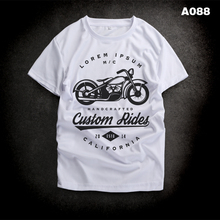 2016 new brand clothing COOL Motorcycle printed Quick T shirt Cool-Feeling Tops Camping leisure  basketball golf Style Tees