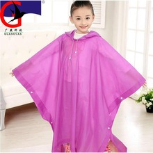 Eva green Kids raincoat children Rainwear impermeable Rainsuit Kids Waterproof rain gear rain poncho capa de chuva MJ837