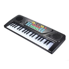 37 Keys Digital Music Electronic Keyboard Kid Electric Piano Organ Musical Instrument Toy For Children Learning Toy Sets(China)