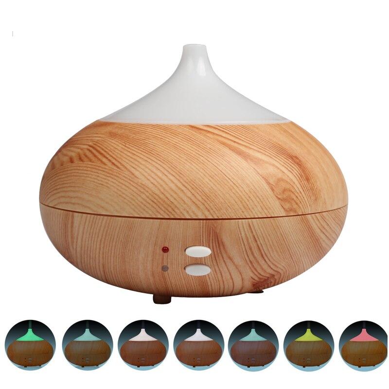 300ml Aroma Essential Oil Diffuser Air Humidifier Wood Grain Aromatherapy diffuser Mist Maker Fogger ultrasonic mist maker <br><br>Aliexpress