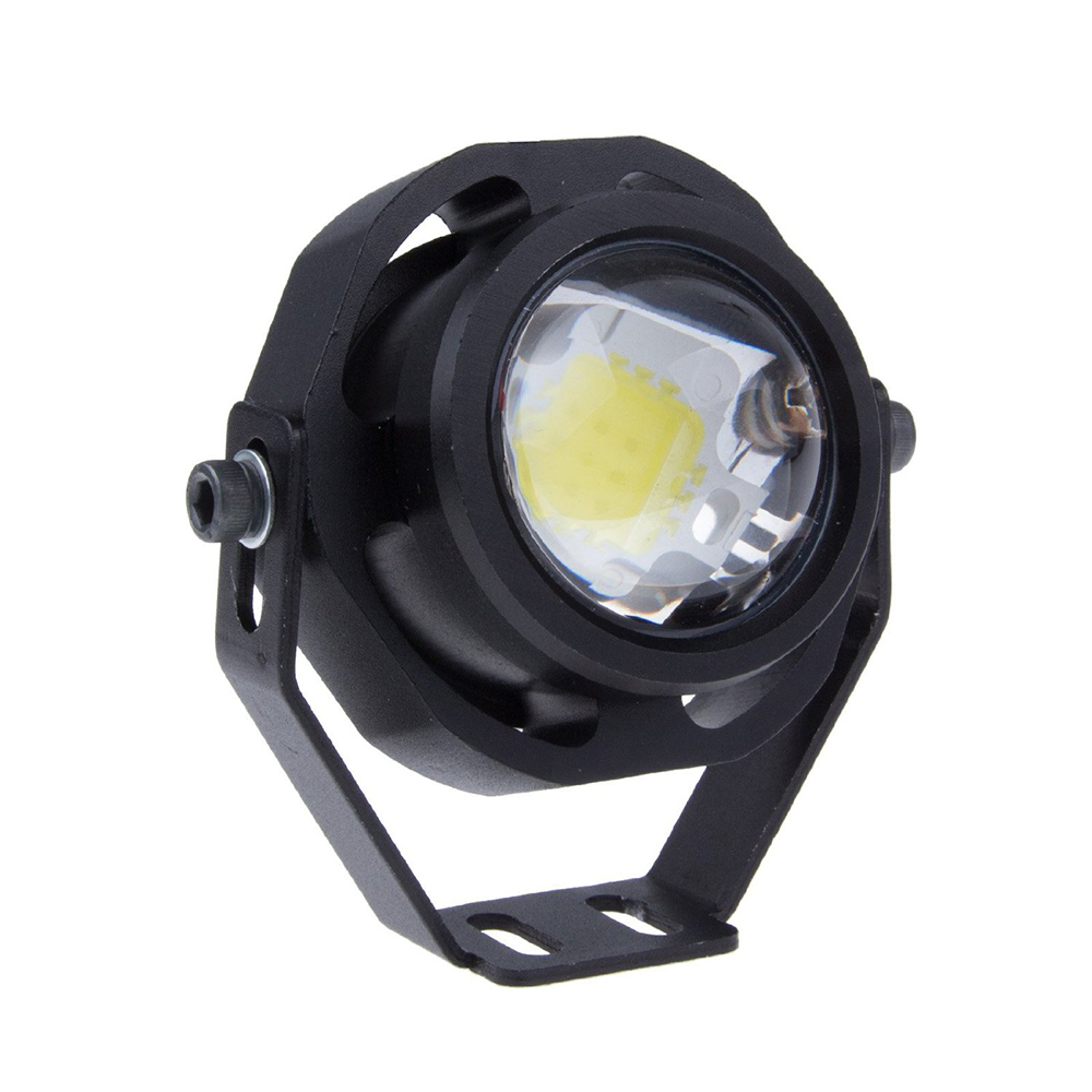 Как сделать фонарь из противотуманки
