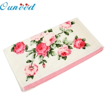Zero 34*75cm Soft Cotton Face Flower Towel Bamboo Fiber Quick Dry Towels