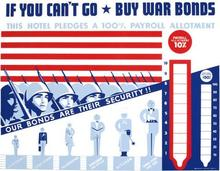 Buy War Bonds Fight US WWII WW2 Propaganda Poster Vintage Retro Decorative DIY Wall Stickers Home Posters Art Bar Decor(China)