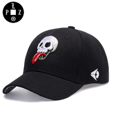 PLZ Swag Design Baseball Cap Funny Skull Embroidery Cap Men Hip hop Caps Embroidered Logo Summer Sun Hat Trucker Hats For Women(China)