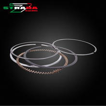 Engine Cylinder Part Piston Rings Kits For Kawasaki ZXR250 ZXR Hours 250 bmw250 Motorcycle Accessories(China)