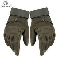 2017 US Army Tactical Gloves Outdoor Sports Full Finger Combat Motocycle Slip-resistant Mittens Air Force Military Gloves(China)