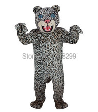 mascot Spotted Leopard jaguar panther mascot costume fancy dress fancy costume cosplay theme mascotte carnival costume kits(China)