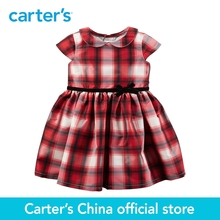 Carter's 1pcs baby children kids Plaid Tafetta Dress 120G105 ,sold by Carter's China official store