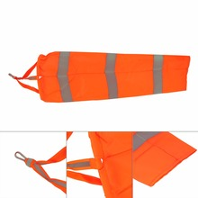 "30"" Airport Windsock Rip-stop Outdoor Wind Measurement Sock Bag with Reflective Belt Outdoor Measuring Wind Direction Accessorie"