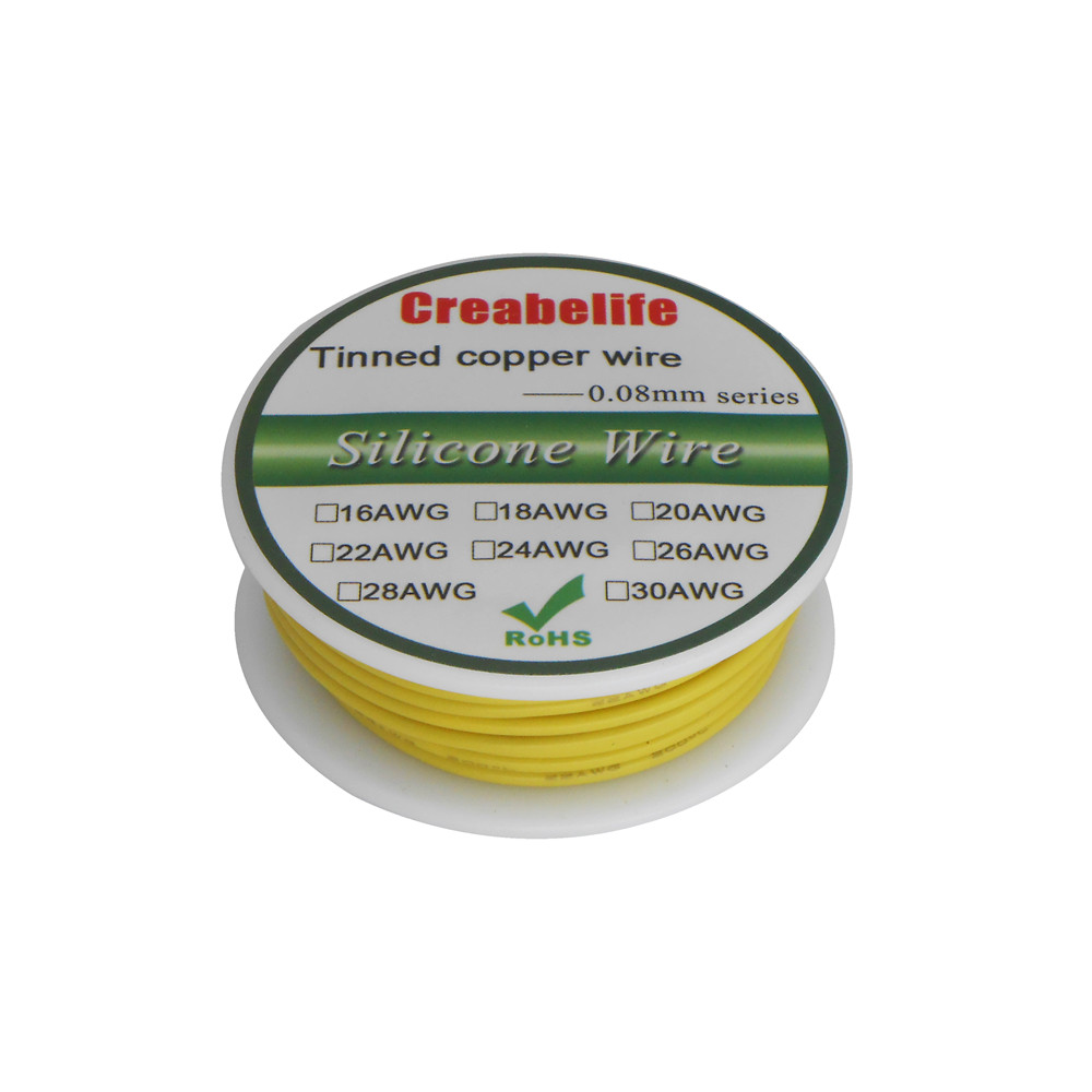 Swell Yellow 5M 20Awg Stranded Hook Up Wire Copper Tinned Ul1007 Jacket Wiring 101 Jonihateforg