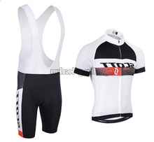2016 New White Cycling Bicycle Jersey Tour De France Short Bike Bicicleta Ropa Roupas Ciclismo Clothing MTB Set Bib Pants(China)