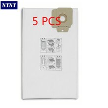 NTNT 5 pieces/lot Vacuum Cleaner Filter Bags Paper Dust Bag Replacement for Karcher CV30 CV30/1 CV38/1 CV48/2