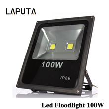 8pcs Waterproof IP65 100W High Power Led Floodlight Warm/Cold White Led Reflector Spotlight Led Flood Light Outdoor Lighting(China)