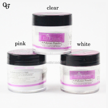 Professional Nail Art Set Salon Clear White Pink Color 3 Bottles False Nail Art Builder Tip Acrylic Powder Crystal Polymer Dust(China)