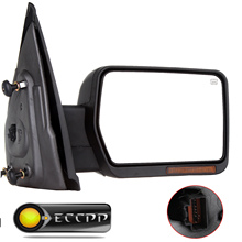 Eccpp Power Heated Turn Signal Puddle Lamp Passenger Side Mirror Right For  2007 - 2014 Ford F-150 F150 Series Truck Pickup