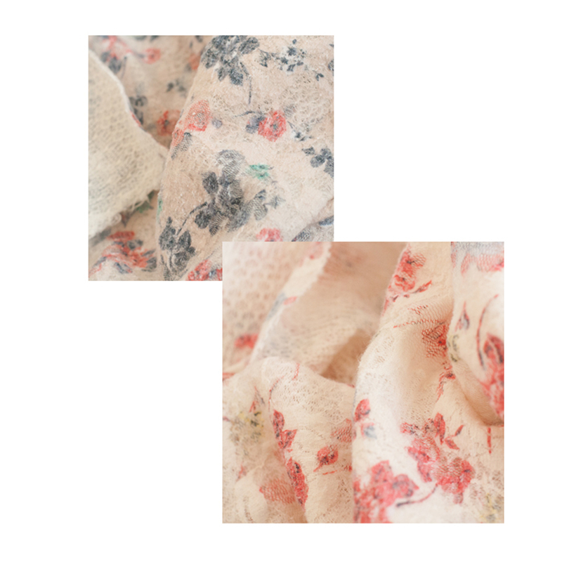 Fashion Newborn Baby Photography Props Floral Wrap Blanket Decorative Baby Shooting Flower Mat Retro Infant Photo Accessories 17