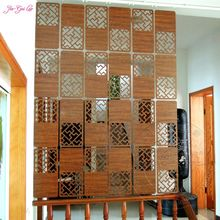 Jia-Gui Luo Carved screen room Hanging screen Partition photo wall Hanging Entranceway office partition screen Hanging screen(China)