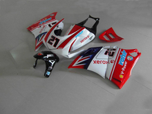 ABS Fairing kit for DUCATI 748 916 996 998 03 04 05 ducati 748 916 996 998 2003 2004 2005 Red white Fairings Set +7gifts DC10