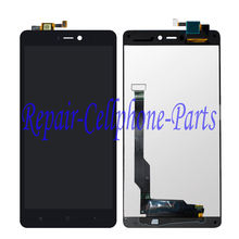 Black Full LCD display+touch screen digitizer assembly For Xiaomi Mi 4c mi4c Free Shipping(China)