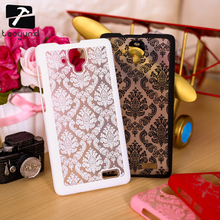 "TAOYUNXI Hot Selling Hard Case For Lenovo A536 A 536 A358T 5.0"" Cover Palace Paper Cut Flower Plastic Clear Retro Fashion Case"