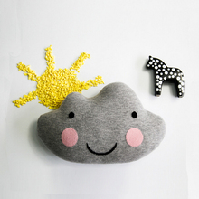 Baby Hot Cushion Smile Cloud Toy 2 Designs Mixed Infant Crib Pillow Cute Stuffed Doll Floor Decoration Kids Appease Toys 1pcs