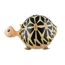 2pcs Walking animal balloon inflatable tortoise baloon children party decoration supplies birthday walking turtle balloons pet
