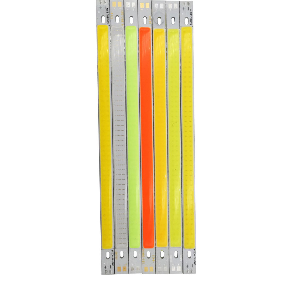 20cm 10W 12V cob led strip bar lights 1000LM car lamp bulb (7)