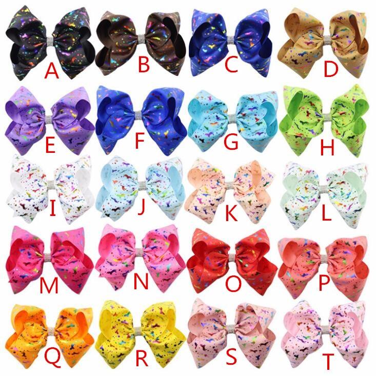 unicorn hairbow rainbow62