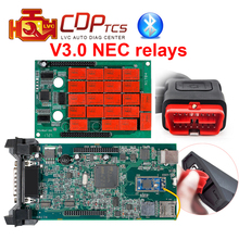 Green Board CDP TCS cdp TCS PRO Plus Bluetooth 2015 R3 keygen software as Multidiag pro OBD2 scanner cars trucks diagnostic tool(China)