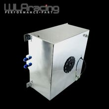 WLRING STORE- 60L Aluminium Fuel Surge tank with sensor  Fuel cell 60L with Cap/ foam inside WLR-TK41