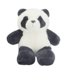 25CM Stuffed Animal Panda Bear Plush Doll Toy Birthday Valentine Christmas Gift @Z87
