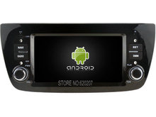 Android 5.1.1 CAR Audio DVD player gps FOR FIAT DOBLO Multimedia navigation head device unit receiver