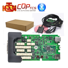 A+ high Quality Single Green board CDP TCS cdp Pro plus Bluetooth 2015.R3 Keygen software cars Trucks OBD2 scan Diagnostic tool(China)
