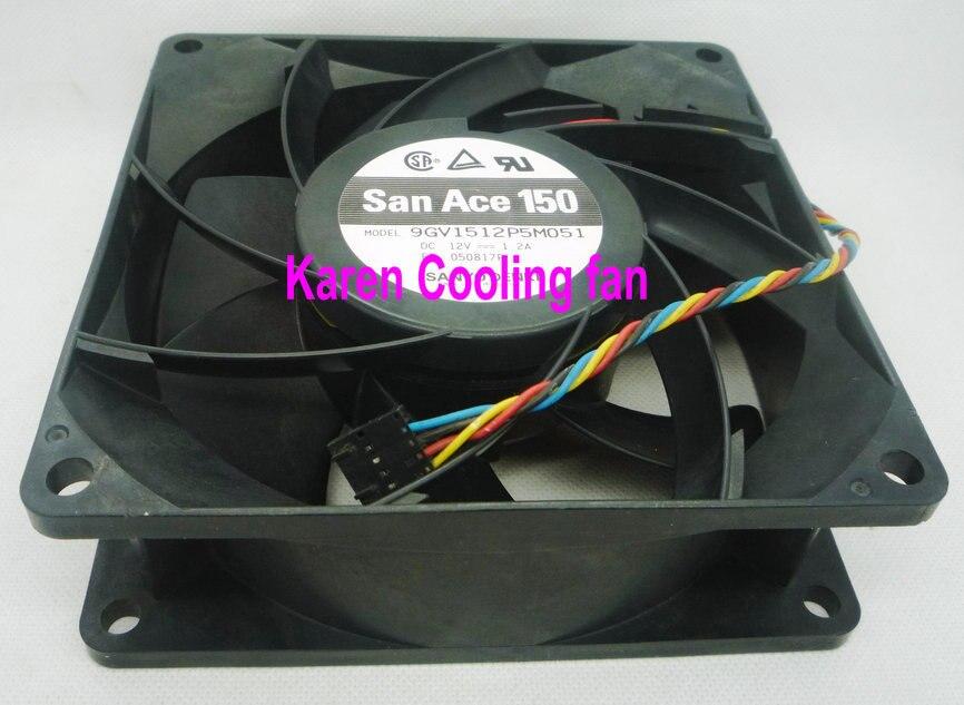 SANYO 15CM  9GV1512P5M051  9GV1512P5MO51 15050 12V 1.2A Cooling fan<br>