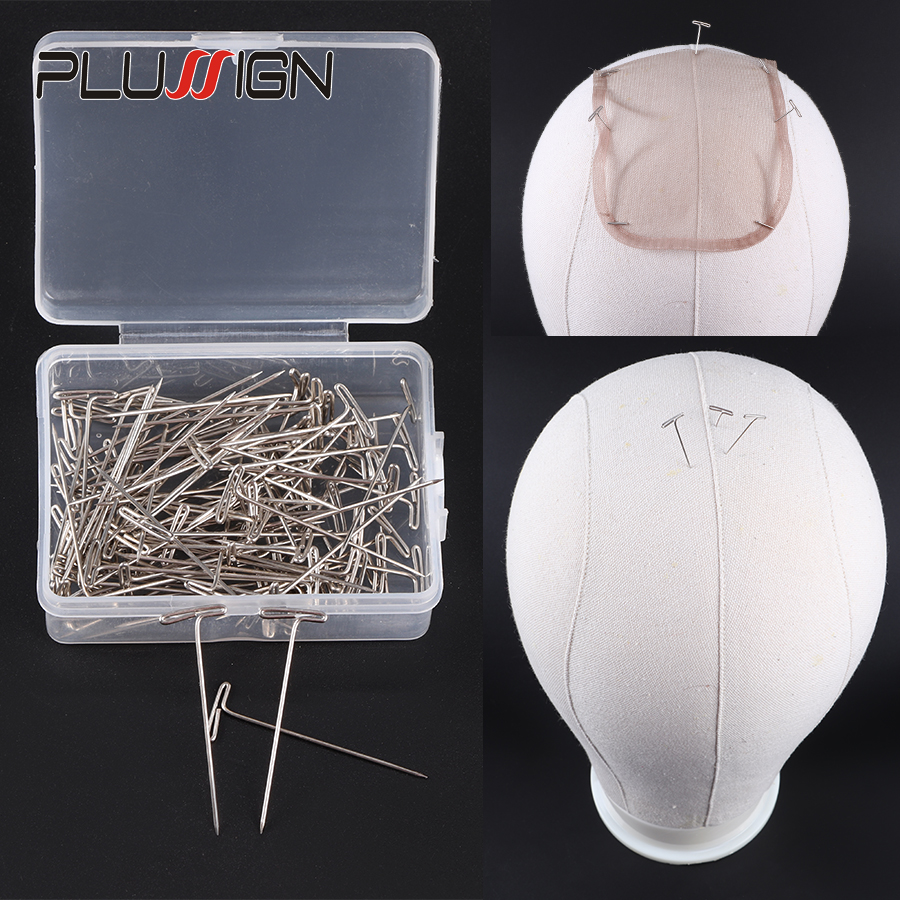 Holding Wigs 150 Pieces T Pins for Blocking Knitting Modelling and Crafts Hai