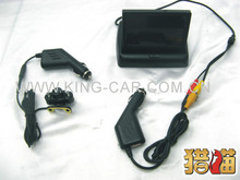 brand new high quality wireless reverse camera 4.3inch display car reverse system(China)