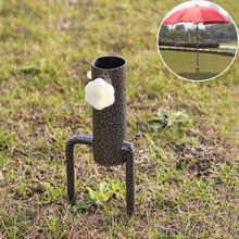 Hot Selling Iron Patio Umbrellas Bases Outdoor Furniture Steady Parasol Garden Umbrella Sunshade Umbrella Holder Diameter 3.6 cm