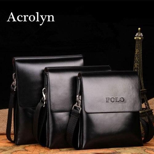 Genuine Leather Bag Men Messenger Bags Man Handbag Fashion Double Pocket Shoulder Bag Free Shipping<br><br>Aliexpress