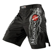 White dragon Eagle subtitles sports breathable cotton loose boxing training pants Tiger Muay Thai shorts mma  cheap mma shorts