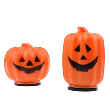 1 Pc Halloween Mini LED Lantern Pumpkin Night Light Lamp Battery Decoration Prop