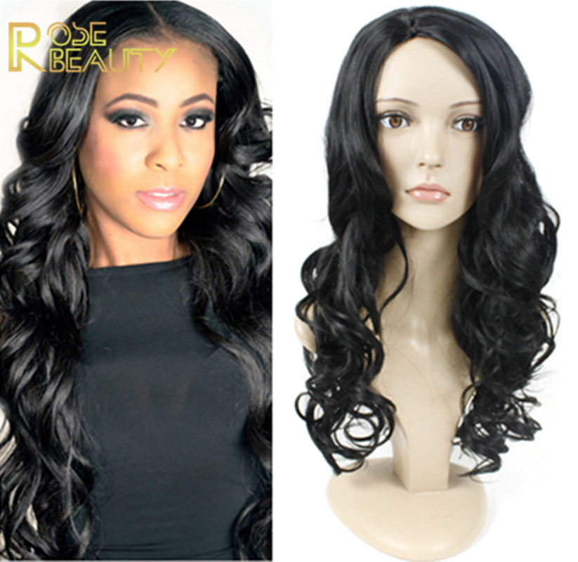 Afro Long Curly Black Wig African American Wig For Black Women Synthetic Natural Black Ciara Wig Cheap Fake Hair Lolita Wig<br><br>Aliexpress