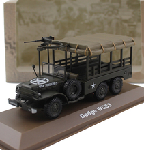 ATLAS 1/43 World War II Dodge wc63 Military truck model Alloy collection model Holiday gift