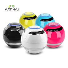 KATMAI Bluetooth Speaker Mini Receiver Boombox FM Radio Speakers Portable MP3 Subwoofer With TF Card Mic Caixa De Som Bluetooth